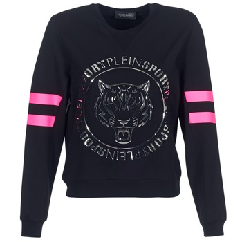 material Women sweaters Philipp Plein Sport LET YOUR MIND FREE Black / Gold