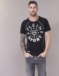 material Men short-sleeved t-shirts Philipp Plein Sport LIONEL Black / White