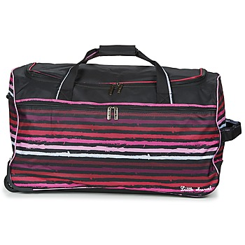 Bags Luggage Little Marcel VANIA Black / Pink