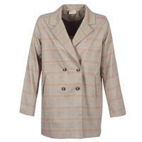 material Women Jackets / Blazers Betty London  Beige