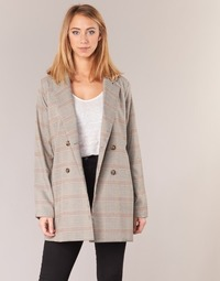 material Women Jackets / Blazers Betty London  Beige