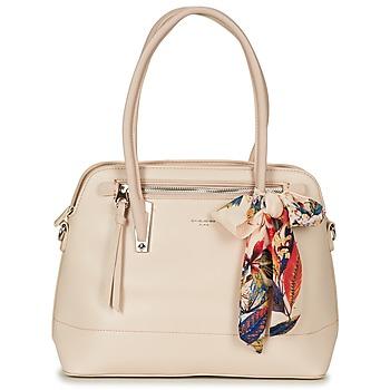 Bags Women Shoulder bags David Jones ROIKI Beige