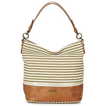 Bags Women Shoulder bags David Jones JOTI Green / Brown