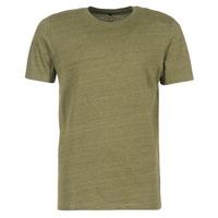 material Men short-sleeved t-shirts Jack & Jones TABLE CORE Kaki