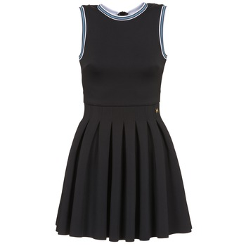 material Women Short Dresses Manoush ATHLETE Black