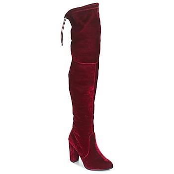Shoes Women High boots Buffalo  Red