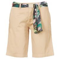 material Women Shorts / Bermudas Guess BENARIO Beige
