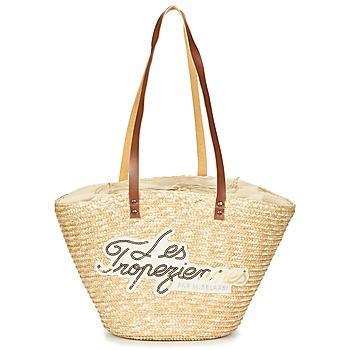 Bags Women Shopper bags Les Tropéziennes par M Belarbi MILOS Beige