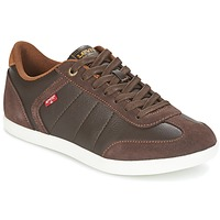 Shoes Men Low top trainers Levi's LOCH Brown