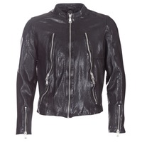 material Men Leather jackets / Imitation le Redskins ROYCE Black