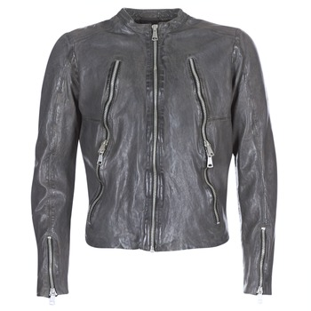 material Men Leather jackets / Imitation le Redskins ROYCE Grey