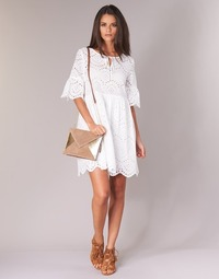material Women Short Dresses Betty London INNATU White