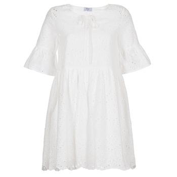 material Women Short Dresses Betty London INNATU White