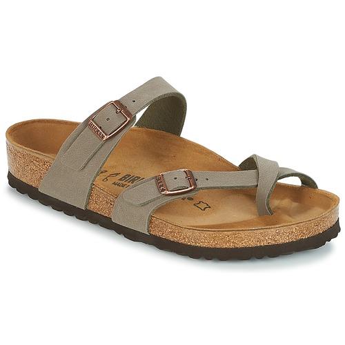 Shoes Women Mules Birkenstock MAYARI Grey