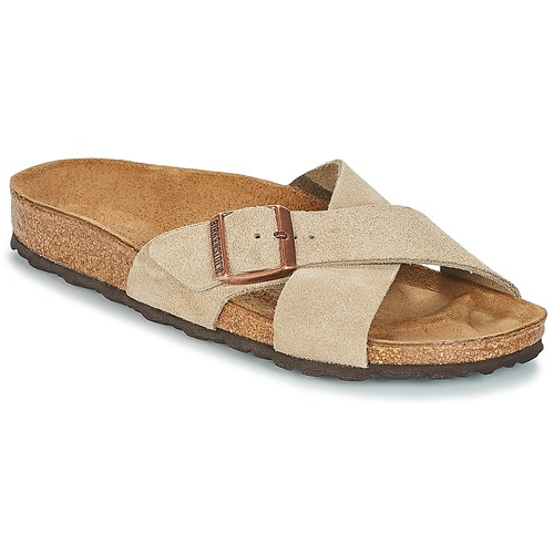 93e118a9e108 Birkenstock SIENA Taupe - Free delivery with Spartoo NET ! - Shoes ...