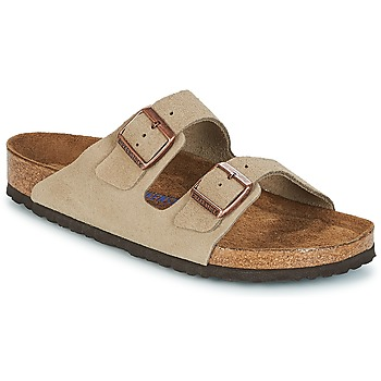Shoes Mules Birkenstock ARIZONA SFB Taupe