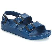 Shoes Boy Sandals Birkenstock MILANO-EVA Marine