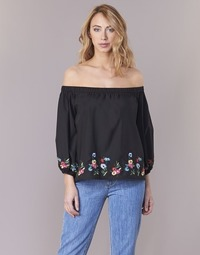 material Women Blouses Moony Mood IFITI Black