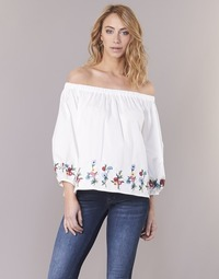 material Women Blouses Moony Mood IFITI White