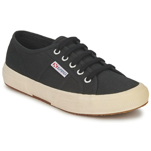Shoes Low top trainers Superga 2750 CLASSIC Black