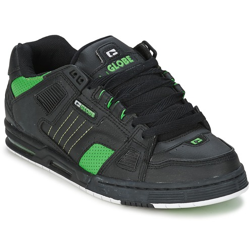 Shoes Men Skate shoes Globe SABRE Black / Green