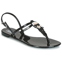 Shoes Women Sandals Karl Lagerfeld JELLY KARL ICONIK Black