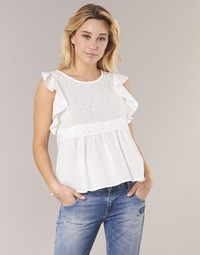 material Women Blouses Betty London INNATOUNE White