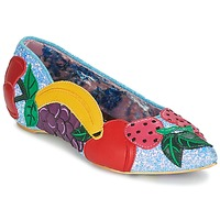 Shoes Women Ballerinas Irregular Choice BANANA BOAT Blue