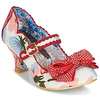 Shoes Women Court shoes Irregular Choice BALMY NIGHTS White / Red