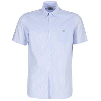material Men short-sleeved shirts Oxbow K1CAMINO Blue / Sky