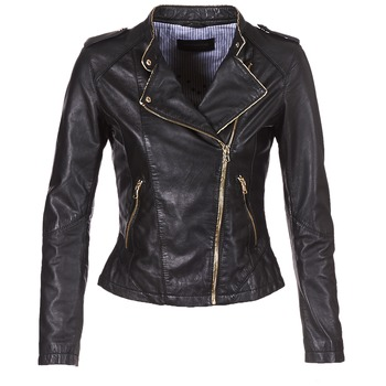 material Women Leather jackets / Imitation le Oakwood SUMMERTIME Black