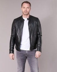 material Men Leather jackets / Imitation le Oakwood AGENCY Black