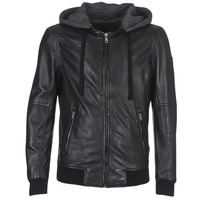 material Men Leather jackets / Imitation le Oakwood JIMMY Black