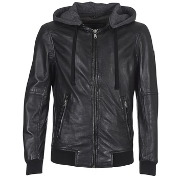 material Women Leather jackets / Imitation le Oakwood JIMMY Black