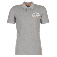 material Men short-sleeved polo shirts Jack & Jones JORTRAST Grey