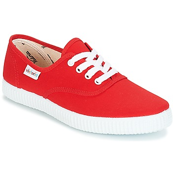 Shoes Low top trainers Victoria INGLESA LONA Red