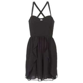 material Women Short Dresses Naf Naf LENY R1 Black