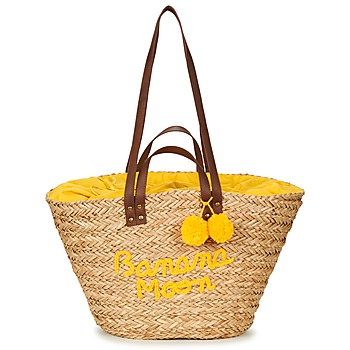 Bags Women Shopper bags Banana Moon LACELY WOODRAW Natural / Yellow