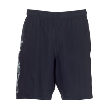 material Men Shorts / Bermudas Under Armour WOVEN GRAPHIC WORDMARK SHORT Black