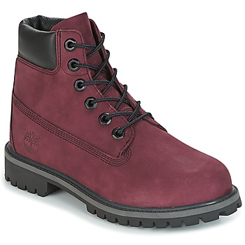 Shoes Children Mid boots Timberland 6 IN PREMIUM WP BOOT Pink