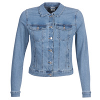 material Women Denim jackets Vero Moda VMHOT SOYA Blue