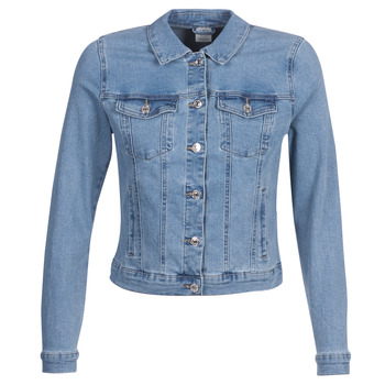 material Women Denim jackets Vero Moda VMHOT SOYA Blue / Clear