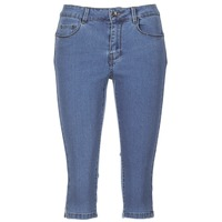 material Women cropped trousers Vero Moda VMHOT SEVEN Blue / Medium