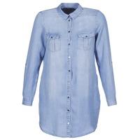 material Women Short Dresses Vero Moda VMSILLA Blue / Clear