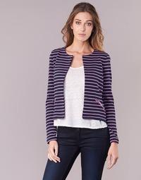 material Women Jackets / Blazers Vero Moda VMULA Marine / Pink