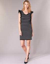 material Women Short Dresses Vero Moda VMABHY Black / White