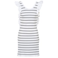 material Women Short Dresses Vero Moda VMABHY White / Black