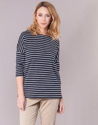 material Women sweaters Vero Moda VMULA Marine / White