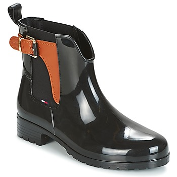 Shoes Women Mid boots Tommy Hilfiger OXLEY Black
