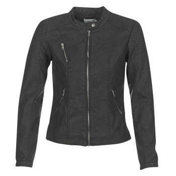 material Women Leather jackets / Imitation le Only STEADY Black